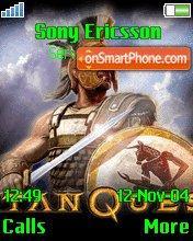 Titan Quest theme screenshot