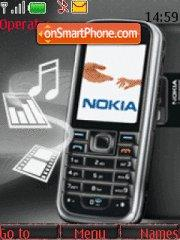 Nokia 6233 theme screenshot