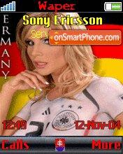 Deutsche Madchen theme screenshot