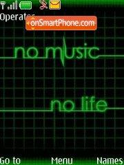 No music No Life theme screenshot