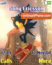 Sonic es el tema de pantalla