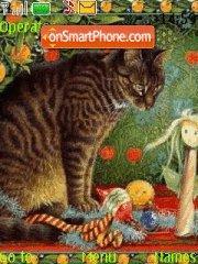 Cats art es el tema de pantalla