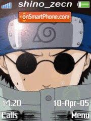 Aburame Shino es el tema de pantalla