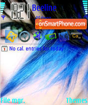Indigo theme screenshot