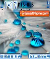 Blue Dew es el tema de pantalla