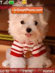 White Puppy es el tema de pantalla