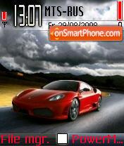 Ferrari1 es el tema de pantalla