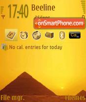 Скриншот темы Pyramids