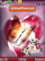 Heart n butterfly Theme-Screenshot