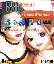 Nana theme screenshot