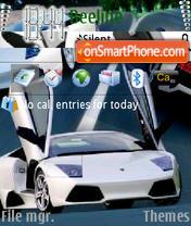 Lamborghini Murcielago theme screenshot