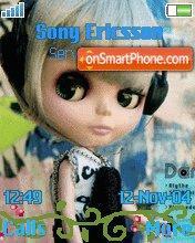 Blythe Doll es el tema de pantalla