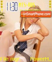 Schoolgirl es el tema de pantalla