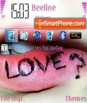 Love? es el tema de pantalla