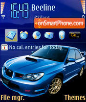 Subaru STI Theme-Screenshot