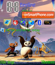 Kung-Fu Panda theme screenshot