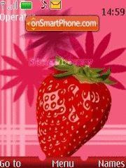 Strawberry Theme-Screenshot