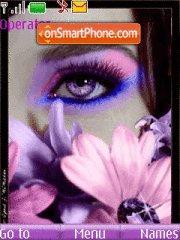 Eyes theme screenshot