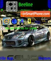 Скриншот темы Super Car