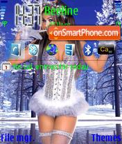 Carmen Electra theme screenshot