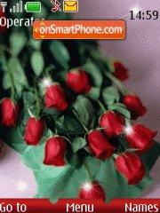 Скриншот темы Bunch of Roses
