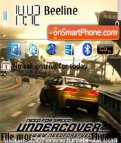 NFS undercover theme screenshot
