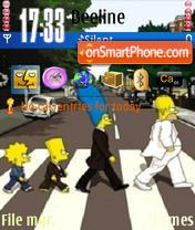 Simpsony theme screenshot