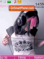 Music love theme screenshot