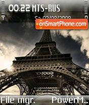 Paris 07 theme screenshot