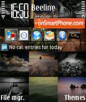 Скриншот темы Calendar 240x320