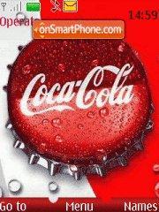 Скриншот темы Coca-cola