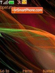 Wave theme screenshot