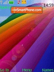 Rainbow theme screenshot