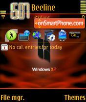 Скриншот темы Xp Red