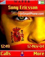 Spanish Face es el tema de pantalla