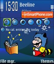Super Mario Fantasy theme screenshot