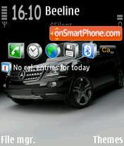Скриншот темы Mercedes 3251