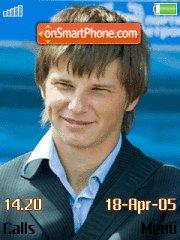 Andrej Arshavin theme screenshot