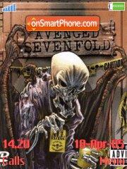 Скриншот темы Avenged Sevenfold 01
