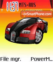 Bugatti Veyron 06 es el tema de pantalla
