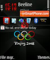 Beijing 2008 default theme screenshot