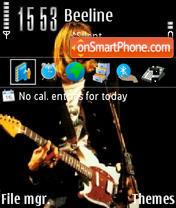 Nirvana v2 es el tema de pantalla