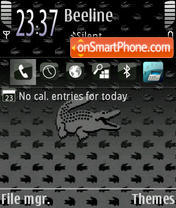 LaCoste 570 theme screenshot