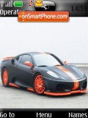 Tuning Ferrari theme screenshot