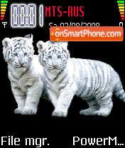 Tigers 01 es el tema de pantalla