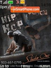 Hip Hop Dance theme screenshot