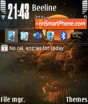 Sun 02 theme screenshot