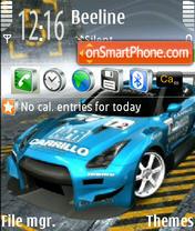Скриншот темы Nfs 240x320