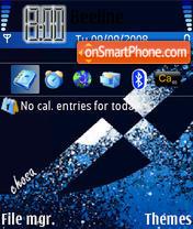 Скриншот темы Abstract theme