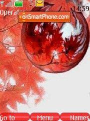 Autumn abstract theme screenshot